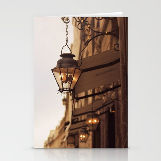 Paris Street Stationery Card