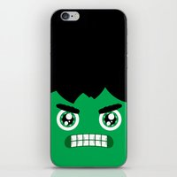 Adorable Hulk iPhone & iPod Skin