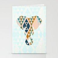 Gajraj - The Elephant He… Stationery Cards