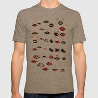 Lips Mens Fitted Tee Tri-Coffee SMALL