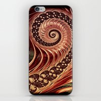 Fractals - For Iphone iPhone & iPod Skin