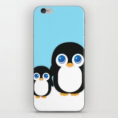 Adorable Penguins iPhone & iPod Skin