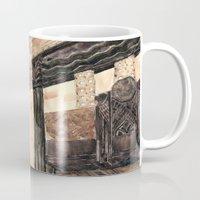 inside the Art Deco spaceship Mug