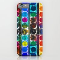 iPhone & iPod Case featuring My Watercolor Palette by Notsniw
