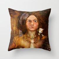 Pagan Avatar Throw Pillow