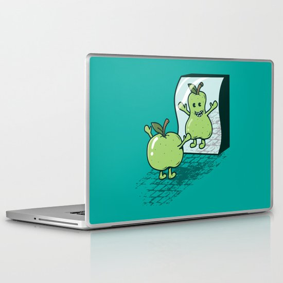 I wish I were... Laptop & iPad Skin