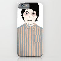 iPhone & iPod Case featuring Stripes by Le Butthead