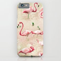 Flamingos Vintage Pink  Slim Case iPhone 6s