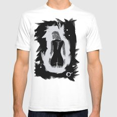 Wicca White Mens Fitted Tee SMALL