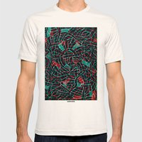 - octopusly - Mens Fitted Tee Natural SMALL