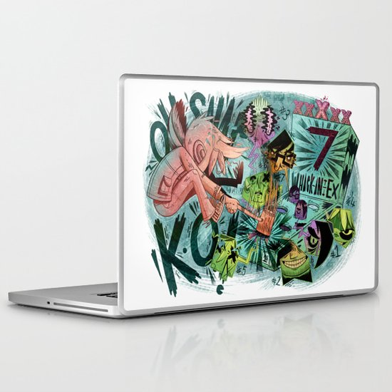 Scott Pilgrim, Fan Art Laptop & iPad Skin