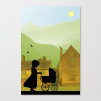 Childhood Dreams, The Pr… Canvas Print