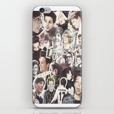 ONE DIRECTION LOUIS TOMLINSON - COLLAGE1 iPhone & iPod Skin