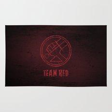 Team Red Rug