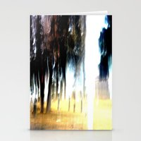 Ghost Forest Stationery Cards