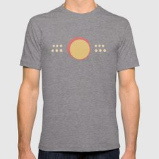 Minimal #30 Mens Fitted Tee Tri-Grey SMALL