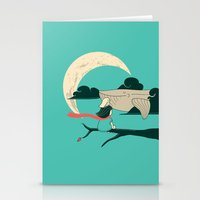 Did You See The Whale In… Stationery Cards
