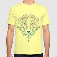 Forever Royal Mens Fitted Tee Lemon SMALL