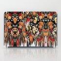 Free Falling, melting floral pattern iPad Case