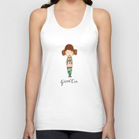 Green Tea Girl Unisex Tank Top