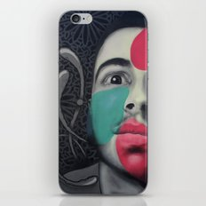 Colour Pressure autorretrato iPhone & iPod Skin