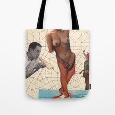 MR. APHRODITE GETS BORN Tote Bag