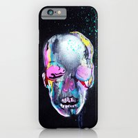 iPhone & iPod Case featuring Skull Study #4 [Noir] by Tiffany Atkin