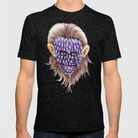 Grape Ape Mens Fitted Tee Tri-Black SMALL