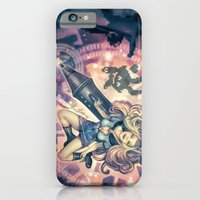 iPhone & iPod Case featuring Splashing in 8Bit by Enrico Guarnieri 'Ico-dY'