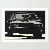 FAST AND THE FUROUS DODG… Art Print