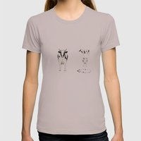 COW Womens Fitted Tee Cinder SMALL