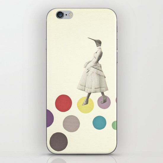 Bird Lady iPhone & iPod Skin
