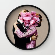 Wall Clock featuring Rocky Start by Eugenia Loli