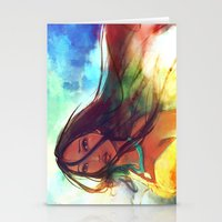 movie Stationery Cards featuring The Wind... by Alice X. Zhang