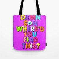 Damn Son / Purple Edition Tote Bag