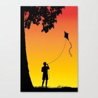 Childhood Dreams, The Ki… Canvas Print
