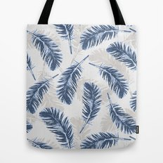 My blue feathers Tote Bag