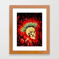 MENTAL HEALTH - 025 Framed Art Print