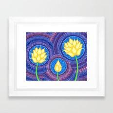 Dreamy Lotus Family Framed Art Print