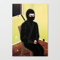 The Weary Eyed Assassin Canvas Print