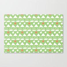 Mod Triangles Canvas Print
