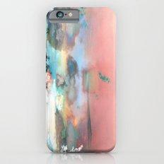 Clouds like Splattered Watercolor iPhone 6s Slim Case