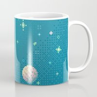 Brain Planet (8bit) Mug