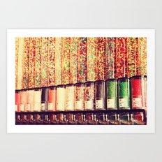 Candy Land Art Print