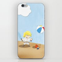 SW Kids - Luke At The Be… iPhone & iPod Skin