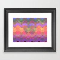 Color Wave Framed Art Print