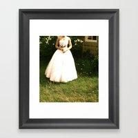 Lonely Bride Framed Art Print