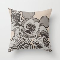 The Ojeros Invade The Ma… Throw Pillow