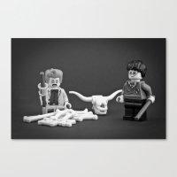Obliviate! Canvas Print
