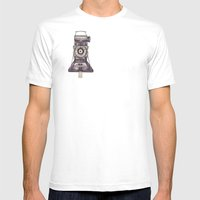 Kershaw Eight-20 King Pe… Mens Fitted Tee White SMALL